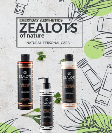ZEALOTS Personal care products